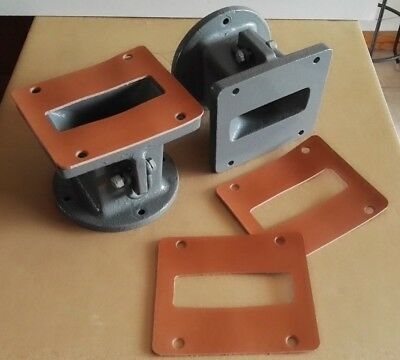 JBL 2 Leather gaskets for 2328 adapter or 2350 2397 horns 2 joints de cuir pro