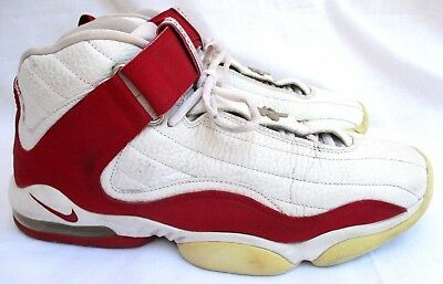 size 40 d9d57 b587b NIKE AIR..PENNY IV 4..HARDAWAY..WHITE RED.