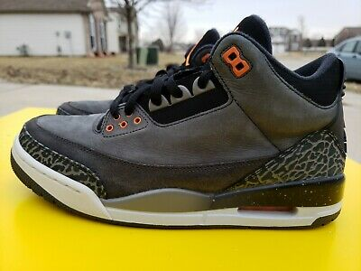 cffd5bd7c7887a Nike Air Jordan 3 Fear Pack shoes mens sz 9 RARE LIGHTLY USED VERY NICE!