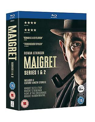 BBC's Maigret - The Complete Collection (Blu-ray, 2 Discs, Region Free) *NEW*