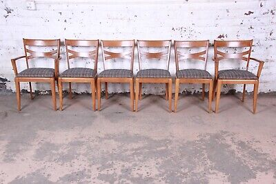 Swell Heywood Wakefield Mid Century Modern Dining Chairs Set Of 6 Beatyapartments Chair Design Images Beatyapartmentscom