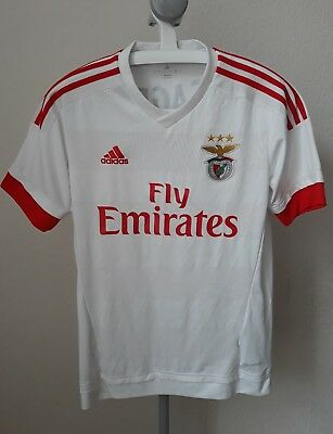 Benfica Away Adidas Football Shirt Jersey S Small Adult Portugal S.l.b