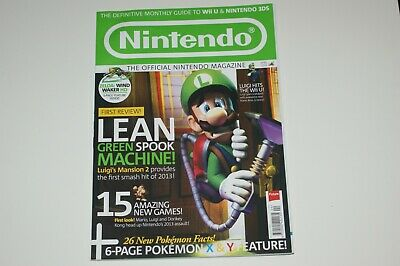 Official Nintendo Magazine UK Issue 93 April 2013 MINT Wii U 3DS