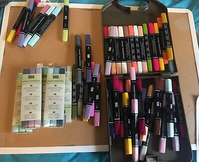 56+ Stampin Up Blendabilities Alcohol Markers + Case