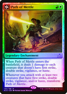 Tower of Triumph MTG Rivals of Ixalan R M//NM x1 Path of Mettle //// Metzali Engl
