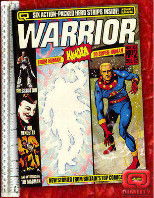 Warrior Magazine #2: with V for Vendetta & Marvelman by Alan Moore