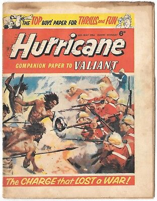 Hurricane 30 May 1964 (mid-high grade) Typhoon Tracy, Skid Solo, Sword for Hire