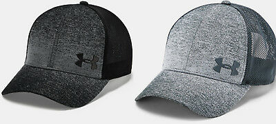 f6b52134 Under Armour Men's UA Vanish Trucker Cap Mesh Back Snapback Adjustable Hat