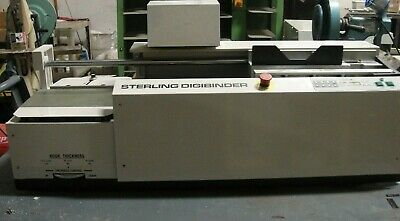 Sterling DigiBinder Automatic Perfect Binder, Video Link In Description