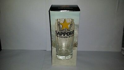 Collectable Boxed Sapporo 650ml Beer Glass