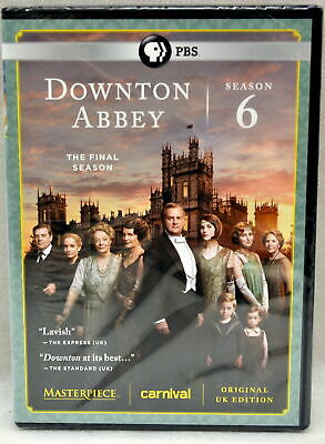 Downtown Abbey Season 6 The Final Season DVD