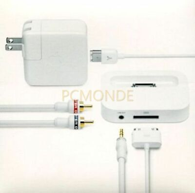 Apple Stereo Connectivity Kit for iPod White (M9339LL/C)