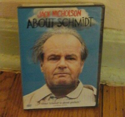 DVD, 2003), About Schmidt Jack Nicholson - BRAND NEW, FACTORY SEALED