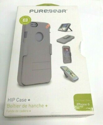 brand new bba85 5c808 PUREGEAR HIP CASE Combo Holster Credit Card Slot iPhone 8 / 7 iPhone ...