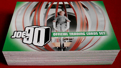JOE 90 - COMPLETE BASE SET (54 cards) - GERRY ANDERSON COLLECTION - Unstoppable
