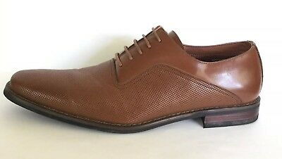 53f37d50adff6e Ferro Aldo Mens Lalo Oxford Dress Shoes Brown Sz 11 EUC Clean MFA19539L