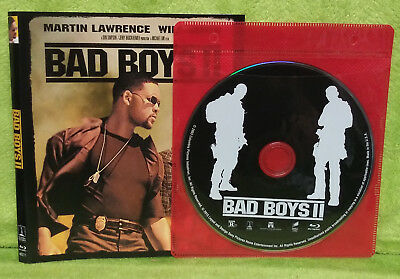 Bad Boys 2 (Blu Ray Disc, 2015) Martin Lawrence, Will Smith