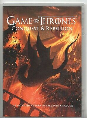 Movie DVD - GAME OF THRONES CONQUEST & REBELLION - Pre-owned - HBO