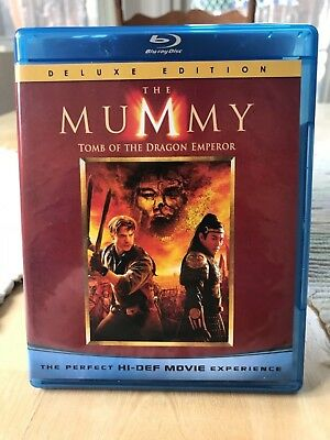 The Mummy: Tomb of the Dragon Emperor (Blu-ray Disc, 2008, 2-Disc Set) Perfect