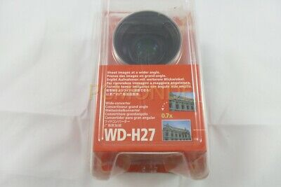 Canon WD-H27 Wide Converter for Elura 100, Optura S1 & DVD Camcorders