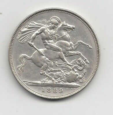 1 Crown 1889- Victoria- England- (1449)
