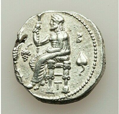 (C.333-323 Bc) Cilicia Tarsus Balakros, As Satrap Silver Ar Stater