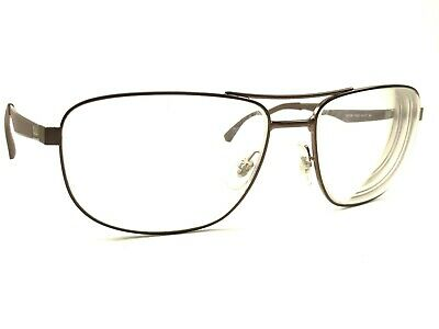 916c8fc476 Authentic Ray Ban RB3528 012 73 Men s Brown Gunmetal Rx Eyeglasses Frames  61 17