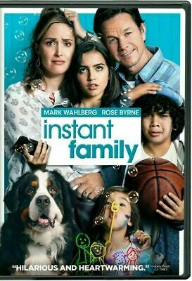 Instant Family DVD 2018 *Ships 3/5/19* NEW SEALED*FREE SHIPPING