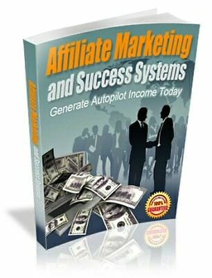 Affiliate Marketing And Success Systems PDF eBook with Master Resell Rights MRR