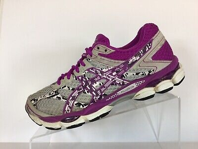 ASICS Gel Cumulus 16 Lite Show GreyPurple Women's Running Shoes Size 7.5