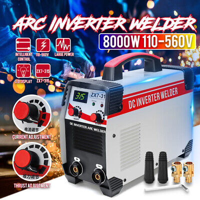 110-560V 8KW Stick Arc MMA Welding DC IGBT Inverter Welder Machine Tool 10-315A