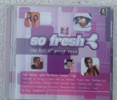 So Fresh the Hits of Spring 2002 cd various artists compilation