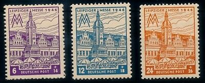 [69310] Germany Allied Occ. Soviet Zone 1946 Leipziger Messe Without WMK MNH
