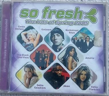 So Fresh the Hits of Spring 2005 cd various artists compilation