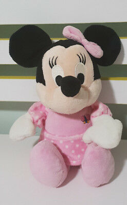 Disney Baby Pink Minnie Mouse Butterfly On Shirt 24Cm! Plush Toy Playgro