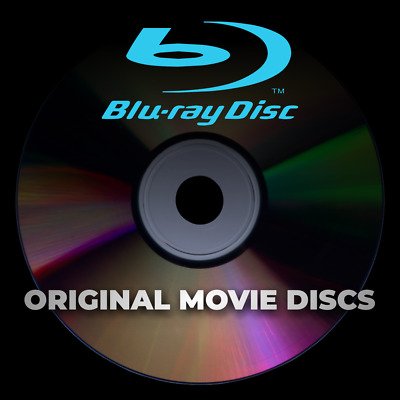 Original Blu-Ray / Bluray Movie Discs - Unwatched -Free Shipping