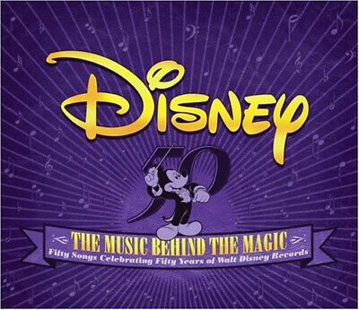 Disney - Disney: The Music Behind the Magic (2 Disc) CD NEW
