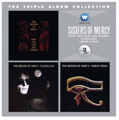 The Sisters of Mercy - The Triple Album Collection (3 Disc) CD NEW