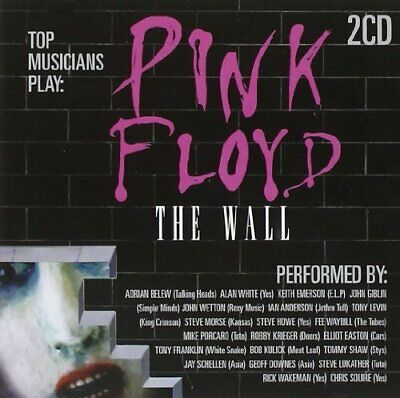 Various Artists - Top Musicians Play: Pink Floyd - The Wall (2 Disc) CD NEW