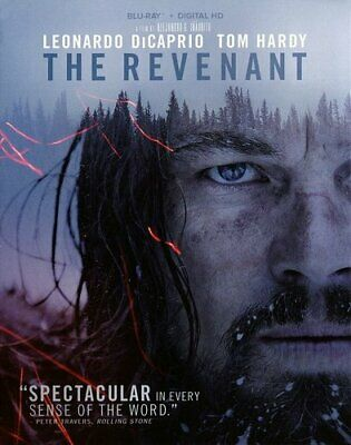 The Revenant (2015 Leonardo DiCaprio) BLU-RAY NEW