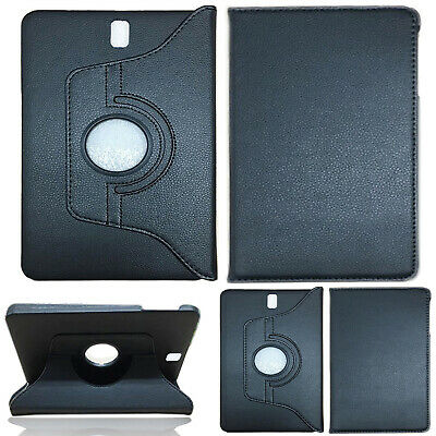 """Samsung Galaxy Tab A 10.5""""SM-T590 Tablet 360°Rotating PU Leather Flip Case Cover"""