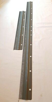 3) Silver Reed Knitmaster Knitting Machine Parts 4.5Mm Standard Cast On Comb Set