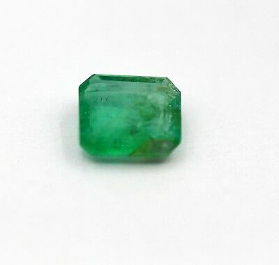0.92 Ct Natural Emerald Loose Octagon Cut No Heat Gemstone