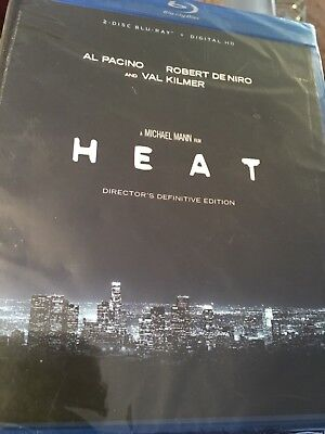 Heat Director's  Definitive Edition (Blu-ray) Factory Sealed