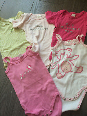 Clothing, Shoes & Accessories Pti Bisou Body Rose Clair Ml T.12mois Girls' Clothing (newborn-5t)