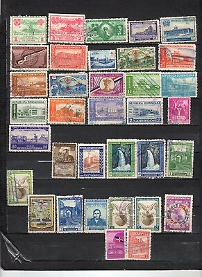 Dominican Republic - Lot Of Early Used Stamps (DR12)