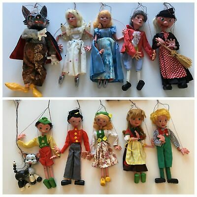 Set Of 11 Pelham Puppets In Excellent Condition, With Original Boxes. Free P&p.