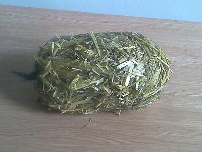 3 x nets of barley straw for natural algae treatment in ponds direct from farm