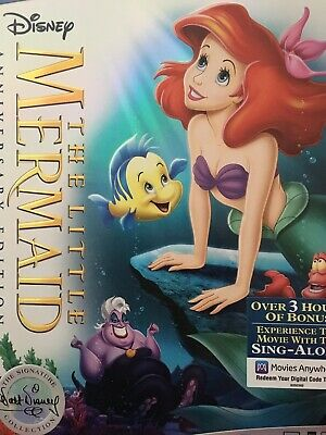 The Little Mermaid Dvd Only