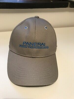 NEW Panerai Watch Limited Edition Grey Classic Yacht Challenge Baseball hat  Cap 00ec46cc86f8